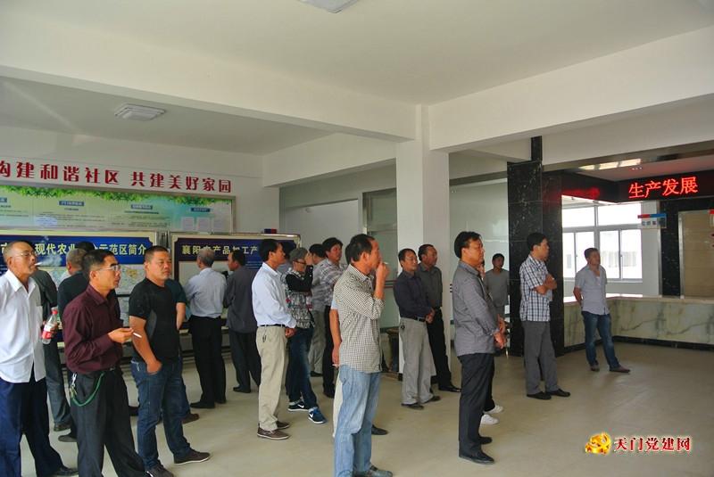 石河镇组织党委成员和村党组织书记外出考察