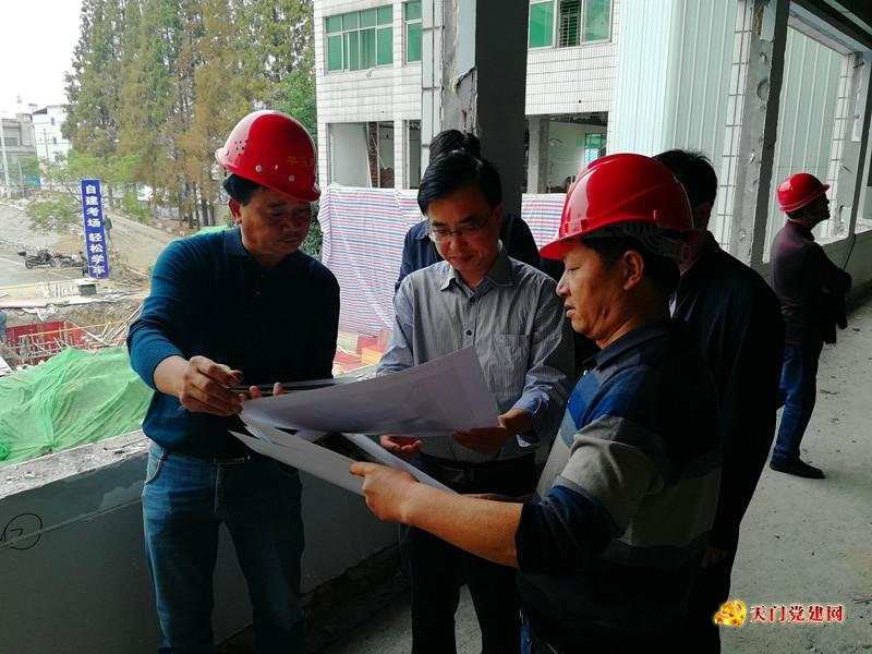 市委组织部调研督导人才重点项目建设进展